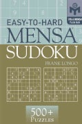 Easy-To-Hard Mensa Sudoku (Paperback)