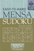 Easy-To-Hard Mensa Sudoku (Paperback)