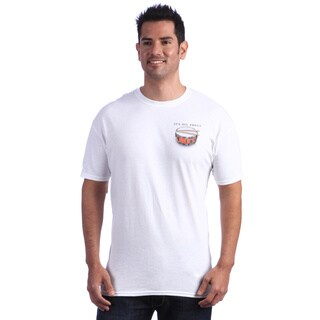 It's All About Drums Men's White T-shirt