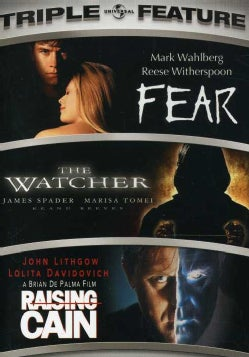 Fear/Watcher/Raising Cain (DVD)