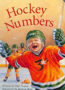 Hockey Numbers (Board book)