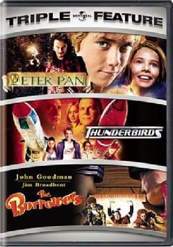 Peter Pan/Thunderbirds/The Borrowers (DVD)