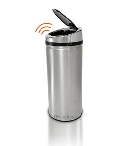 iTouchless NX 8-gallon Automatic Stainless Steel Trash Can