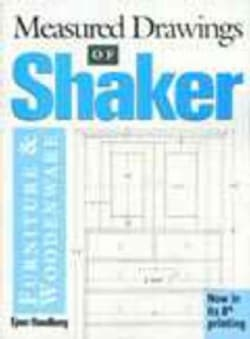 Shop Drawings of Shaker Furniture & Woodenware (Hardcover)