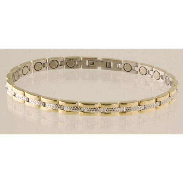 Sabona Lady Executive Regal Duet Magnetic Bracelet