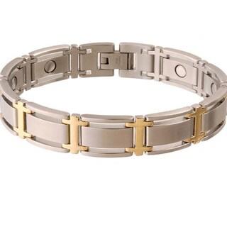 Sabona Executive Symmetry Duet Magnetic Bracelet