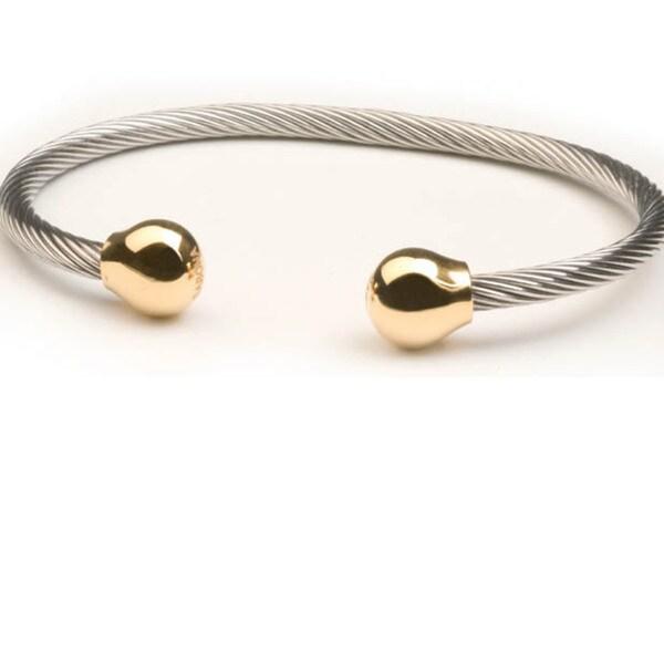 Sabona Professional Steel Twist Magnetic Bangle
