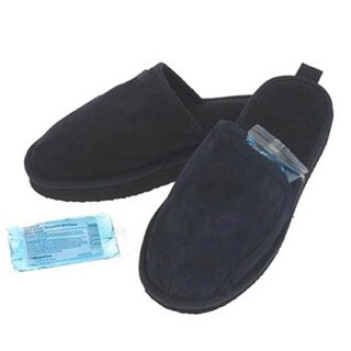 Conair Foot Vibes Heated Men's Massaging Slippers