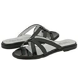 Taryn Rose Rene Black Patent Sandals