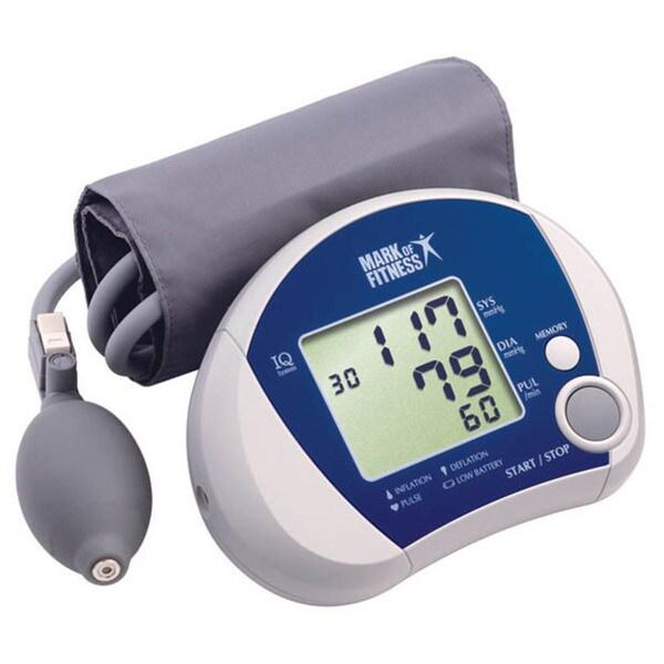 Manual Inflate Blood Pressure Monitor
