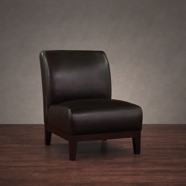 Cole Dark Brown Leather Chair