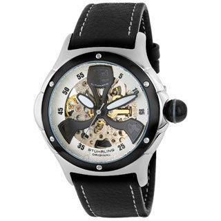 Stuhrling Original Alpine Men's Automatic Skeleton Watch