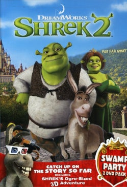 Shrek 2/Shrek 3D Party In The Swamp (DVD)