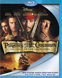 Pirates of the Caribbean: Curse of the Black Pearl (Blu-ray Disc)