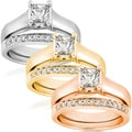 14k Gold 3/4ct TDW Diamond Bridal Ring Set (G-H, I1)