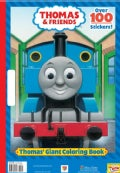 Thomas' Giant Coloring Book (Paperback)