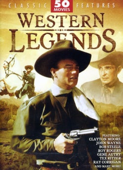 Western Legends 50 Movie Pack (DVD)