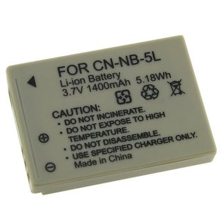 Replacement NB-5L Battery for Canon SD700 800 900