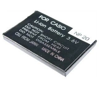 Battery NP-20 for Casio EXILIM