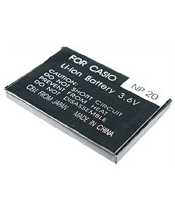 INSTEN Battery NP-20 for Casio EXILIM