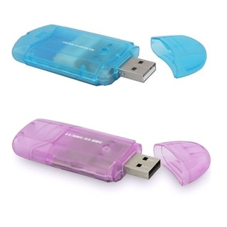 MMC SD to USB Flash 2.0 Memory Card Reader Adapter