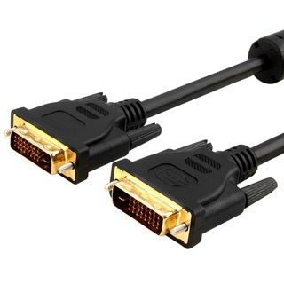 INSTEN Black 6-foot DVI-D Digital Dual Link M/ M DVI Cable