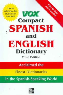 Vox Compact Spanish and English Dictionary (Paperback)