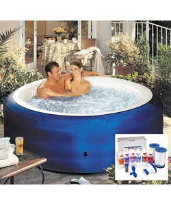 Spa2Go Portable Hot Tub with Combo Care Kit