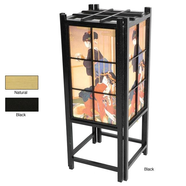 Geisha Design Shoji Accent Lantern (China)