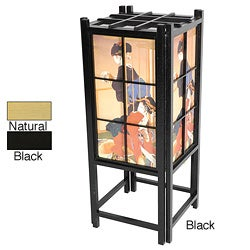 Geisha Design Shoji Accent Lantern (China)