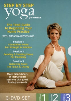 Yoga Journal's: Beginning Yoga Step by Step Session 1, 2 & 3 (DVD)