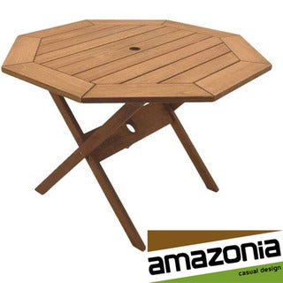 Octagonal 47-inch Folding Table