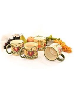Tuscan Collection 4-piece Mug Set