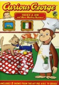 Curious George: Takes A Job And More Monkey Business (DVD)