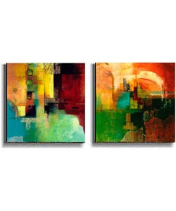 Yin Yang & Chariots of the Gods Canvas Art Set