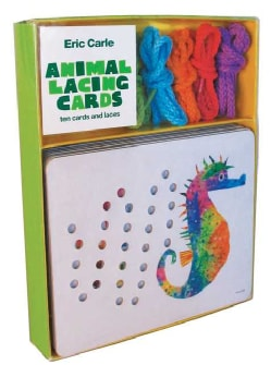 Eric Carle Animal Lacing Cards (Cards)