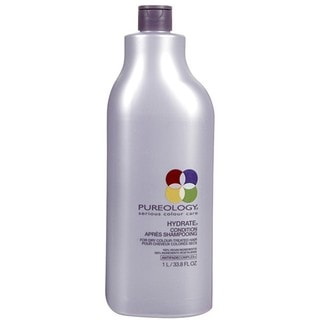 Hydrate Conditioner by Pureology for Unisex - 33.8 oz Conditioner