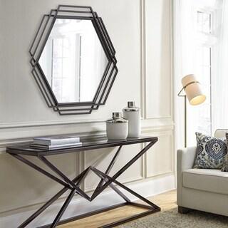 Raven Iron Frame Wall Mirror