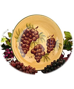 Sonoma Hand-painted Large Pasta/Salad/Fruit Bowl