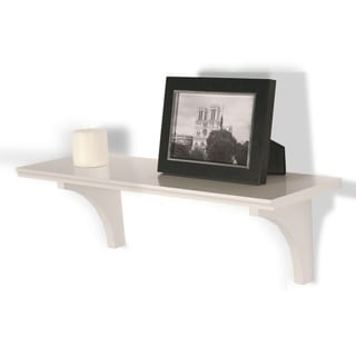 InPlace 23-inch White Shelf Kit