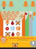Menagerie Mix and Match Stationery (Paperback)