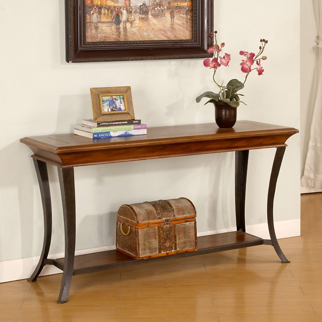 Checkerboard Inlay Sofa Table at Sears.com