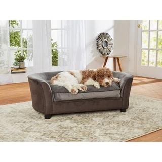 Enchanted Home Pet Panache Pet Sofa - Dark Grey
