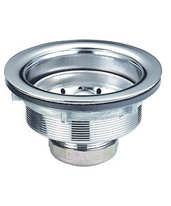 Stainless Steel Brushed Nickel Strainer