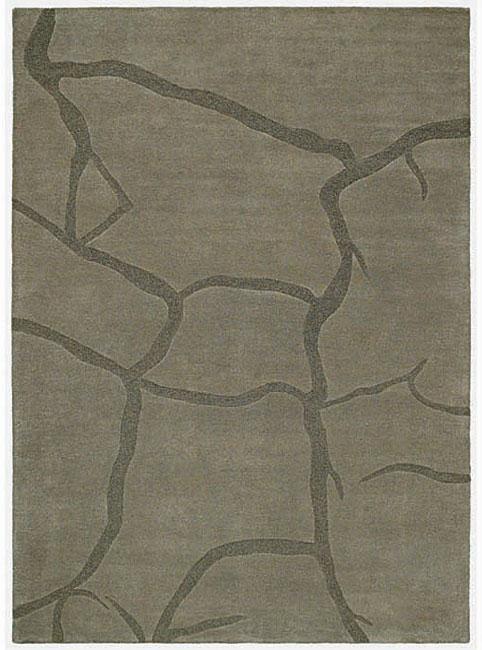 Hand-tufted Creka Wool Rug (8' x 10'6)