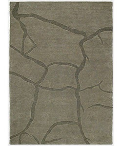 Hand-tufted Creka Wool Rug (8' x 10'6)