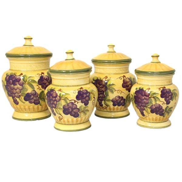 Sonoma Collection Deluxe 4-piece Canister Set