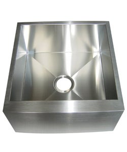 Farmhouse 21-inch Stainless Steel Undermount Kitchen Sink