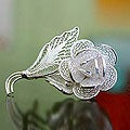 Sweetheart Rose Brooch (Indonesia)