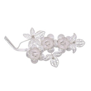 Silver Bouquet Brooch (Indonesia)